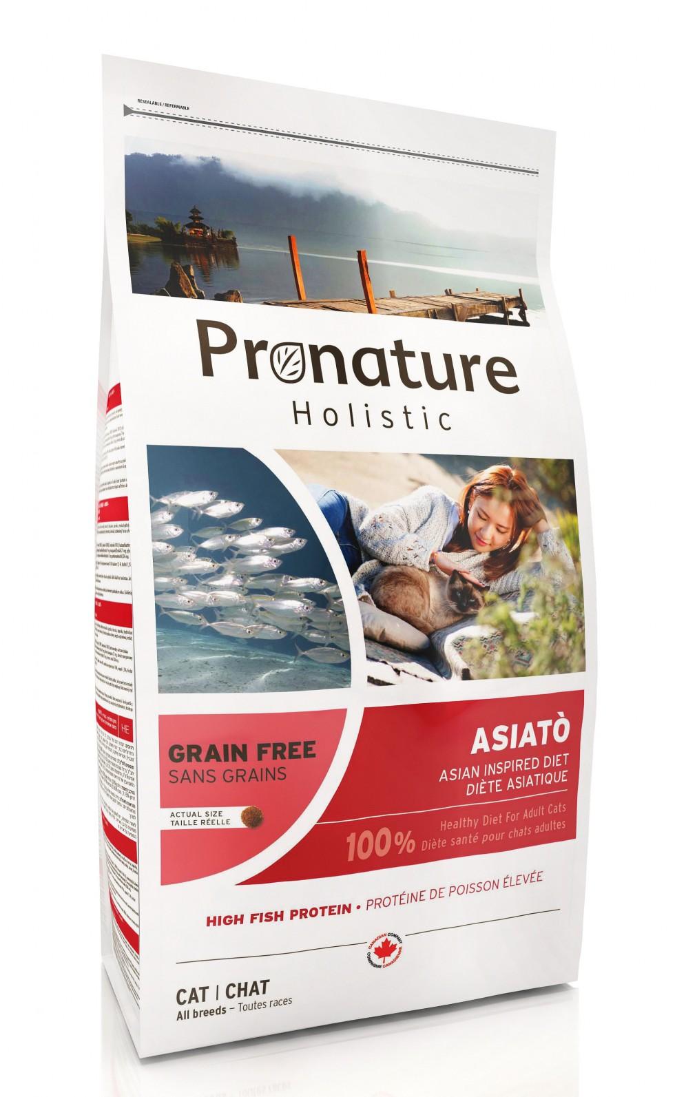 PRONATURE HOLISTIC GATTO - ASIATO' 0,34 kg.