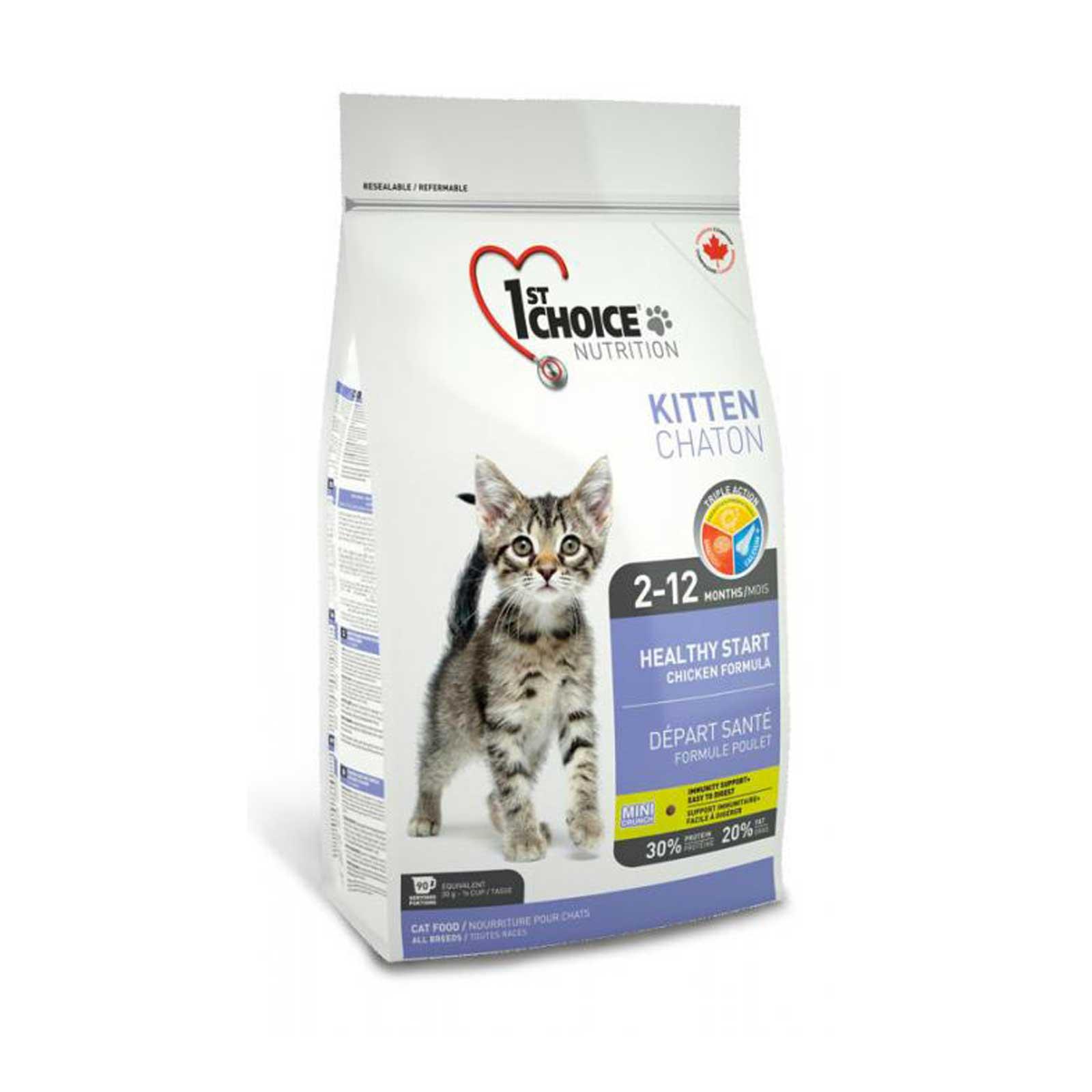 1st Choice Cat Kitten 0,350 kg. - Crocchette per gattini in crescita