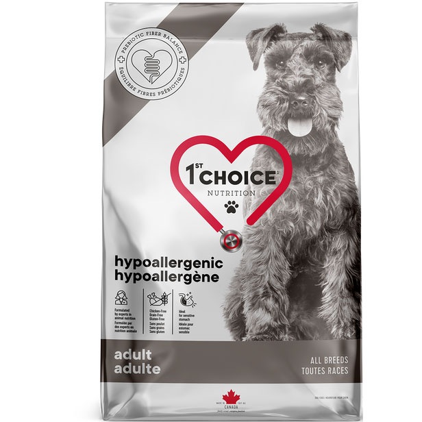 CROCCHETTE 1ST CHOICE CANE IPOALLERGENICO - GRAIN FREE - 2 kg.