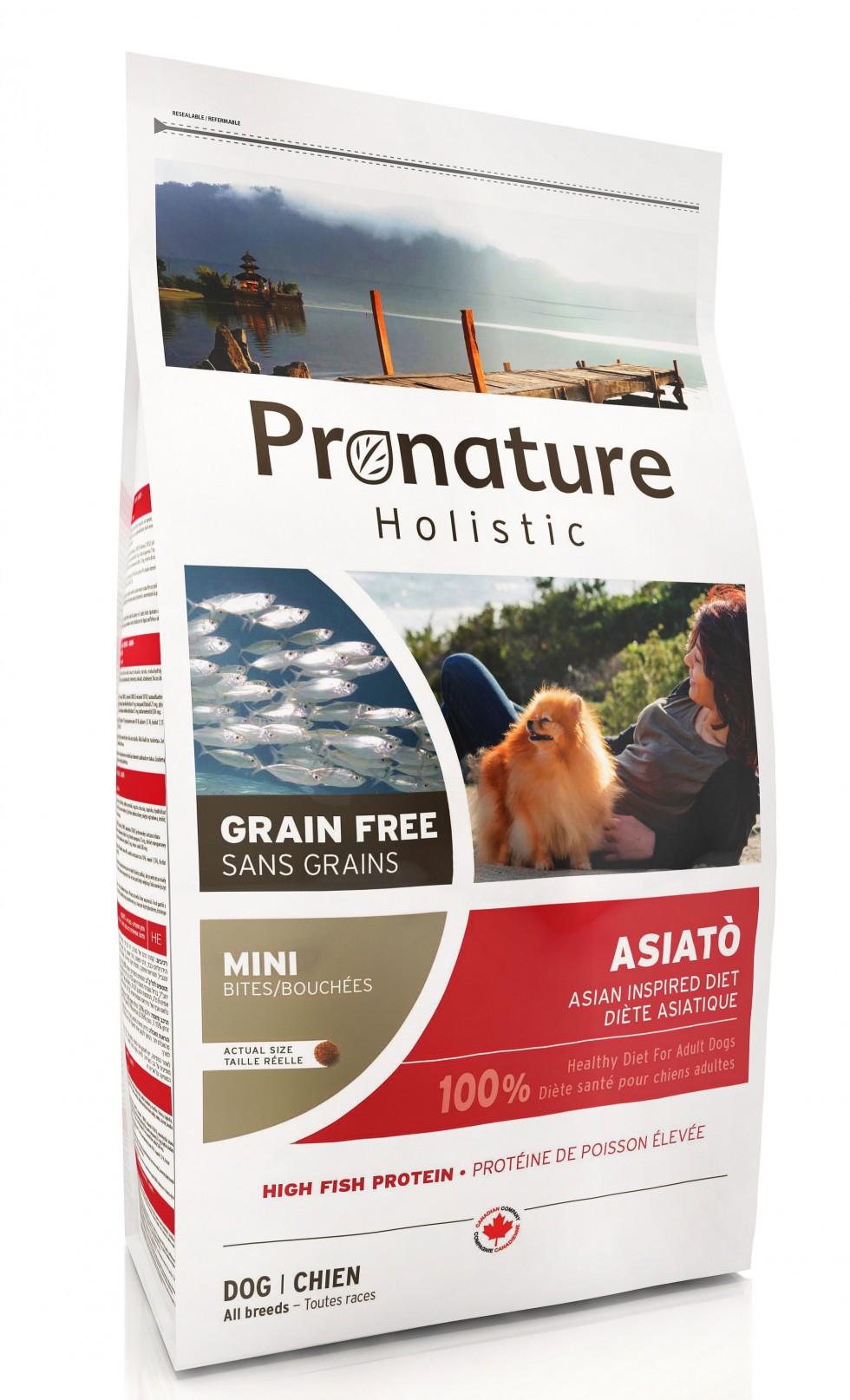 PRONATURE HOLISTIC CANE - ASIATO' - CROCCHETTA PICCOLA 2 kg.