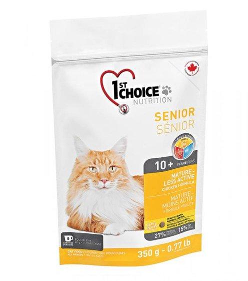 1st Choice Cat Senior 0,350 kg. - Crocchette per gatti anziani o poco attivi